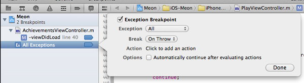 Add Breakpoint Window