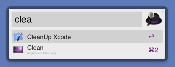 Xcode Clean Up with Alfred