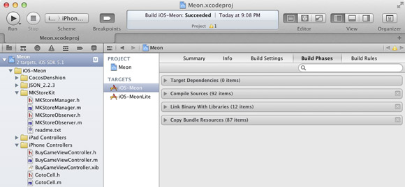 Xcode 4 vs Me : Running Custom Scripts after Build