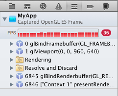 OpenGL frames overview