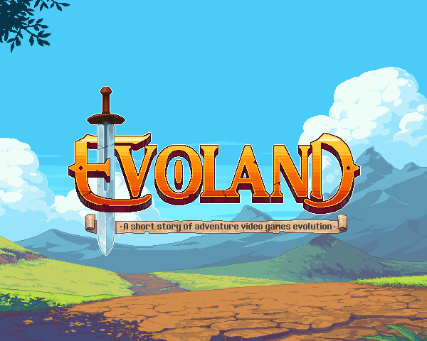 Evoland splashscreen