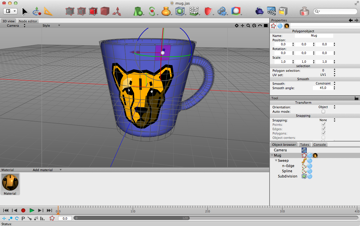 Import Cheetah3D Model in SceneKit